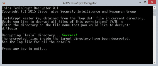TeslaDecryptor